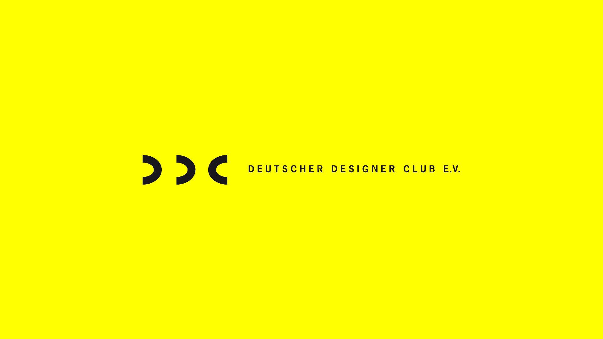 Logo auf gelb DDC Deutscher Designer Club e. V.